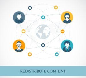 Redistribute Content