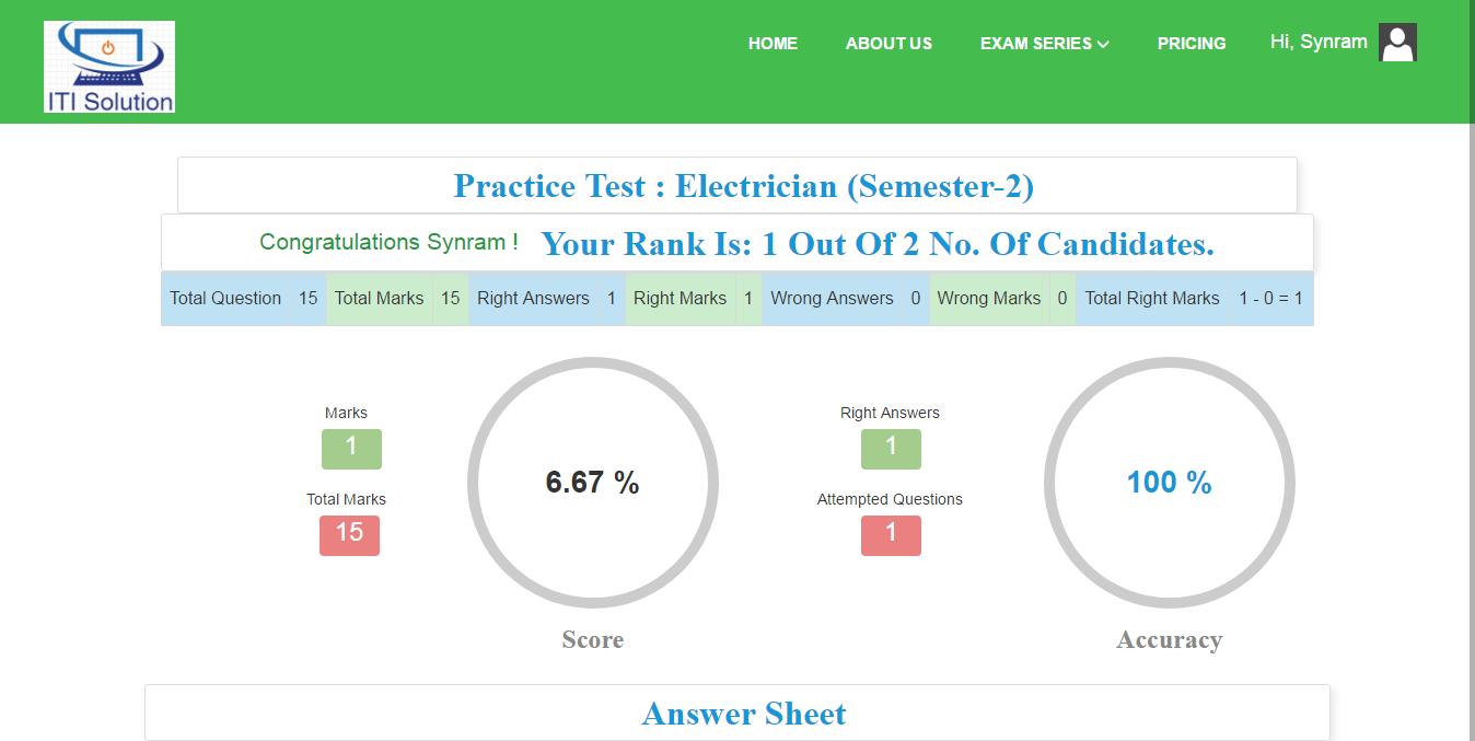 Online-Exam-ITI-4